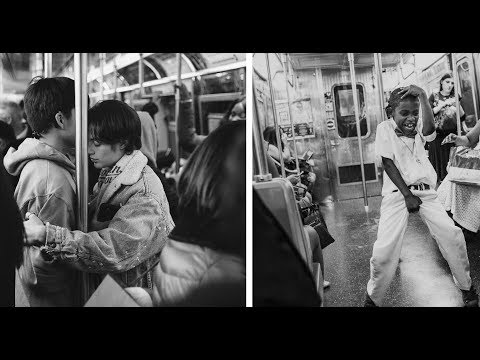The Faces Of The New York Subway In Fantastic Black And White Images