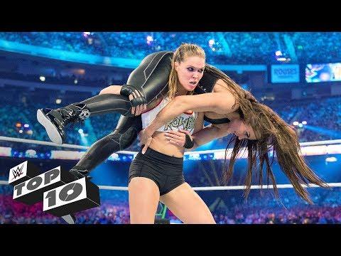 Women's WrestleMania milestones: WWE Top 10, March 30, 2019
