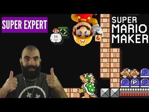 Tannokis and Cheese | Super Expert No Skips SMB3 Challenge | Mario Maker [III] (видео)