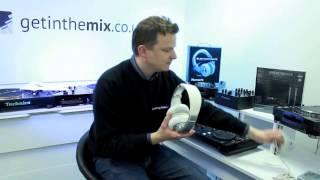 Numark Electrowave DJ Headphones - Demonstration