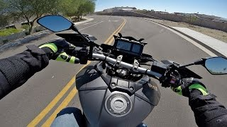 4. 2015 Yamaha FJ-09 - Test Ride Review