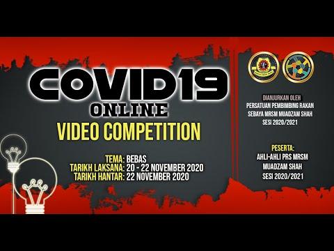 COVID 19 VIDEO ONLINE COMPETITION 2020    MRSM MUSHA    PRS 20/21