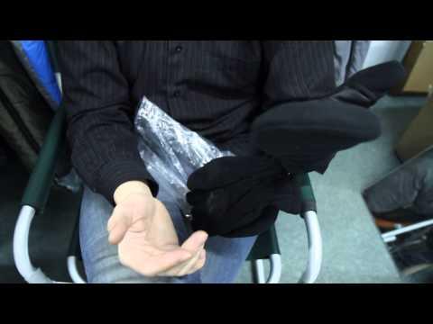 Перчатки-варежки флис «Puffin Down». Видеообзор.