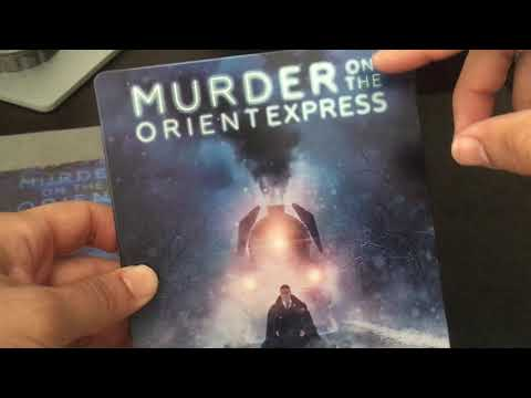 MURDER ON THE ORIENT EXPRESS  [KIMCHIDVD #65] STEELBOOK BLU RAY REVIEW + UNBOXING