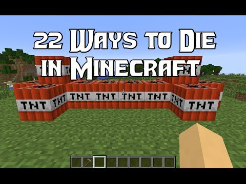 22 Ways to Die in Minecraft (видео)
