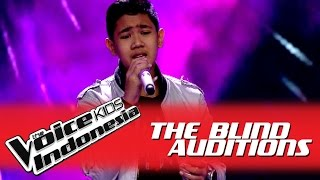 "Video Rafi ""Love of My Life"" I The Blind Auditions I The Voice Kids Indonesia GlobalTV 2016 MP3, 3GP, MP4, WEBM, AVI, FLV Oktober 2017"