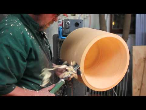 How It's Made: Wooden Lamp Shade