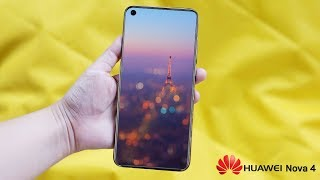 Huawei Nova 4 - First Phone With A Hole In The Screen !!