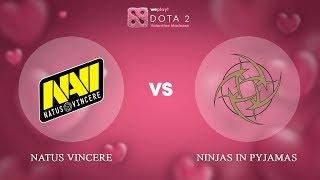 Natus Vincere vs Ninjas in Pyjamas - RU @Map2 | Dota 2 Valentine Madness | WePlay!
