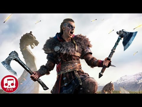 """Assassin's Creed Valhalla Rap by Jt Music & Fabvl - """"Legends Fall"""""""