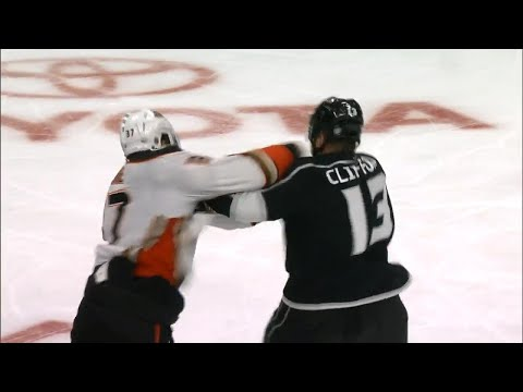 Video: Gotta See It: 3 fights erupt in 4 seconds between Kings and Ducks