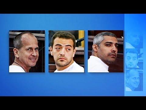 Αίγυπτος:Τρία χρόνια φυλάκιση για τους τρεις δημοσιογράφους του Αλ Τζαζίρα