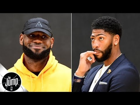 Video: Anthony Davis won't get LeBron to play great defense in regular season - Amin Elhassan | The Jump