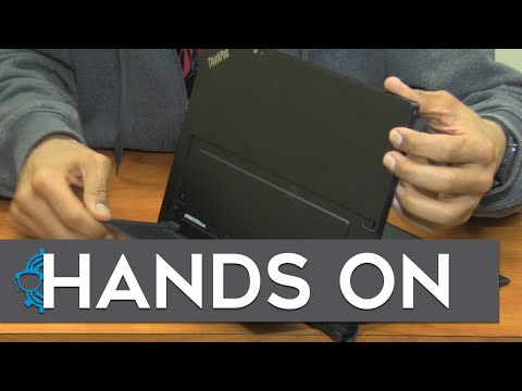Lenovo ThinkPad X1 Tablet Hands On!