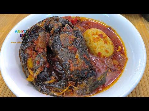 NIGERIAN DRIED CATFISH STEW/SAUCE TUTORIAL