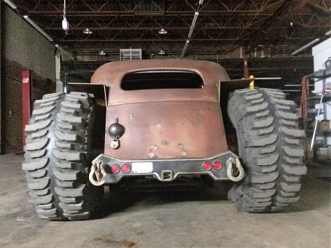 Rat Rod 4×4 build