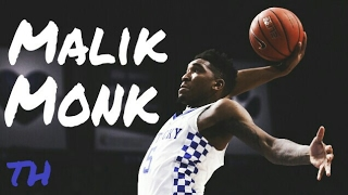 Whether it's flying through the air or draining threes, there are very few players that can score the way Malik Monk has been able to this past season at Kentucky.