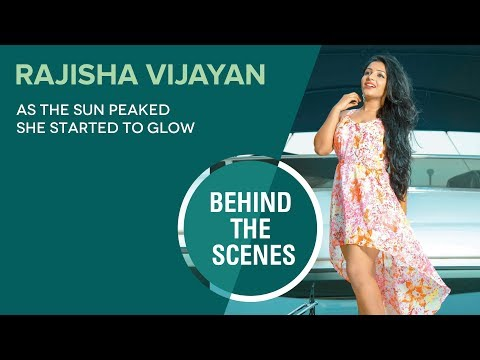 Rajisha Vijayan || Photo Shoot Behind The Scenes Video || FWD Magazine