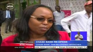 Chase Bank Customers Rejoice As The Troubled Bank Re-opens