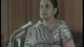 China Visit of Mrs. Sirimavo Bandaranaike - Video1