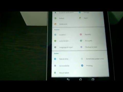 Asus Zenpad Z170MG Tablet Review