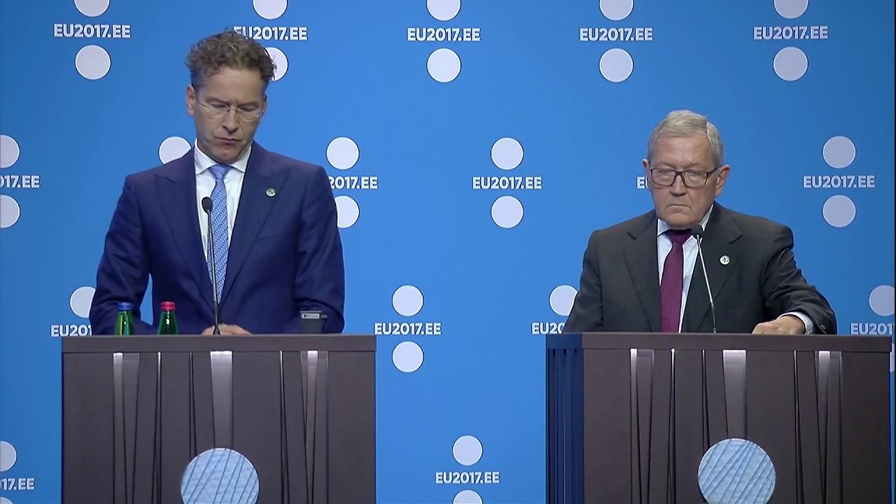 Δηλώσεις Μπενουά Κερέ μετά την ολοκλήρωση του Eurogroup στο Ταλίν