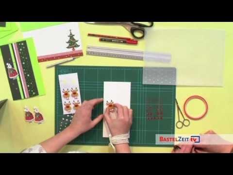 Bastelzeit TV 49 - attraktive Weihnachtskarten mit Rössler Papier