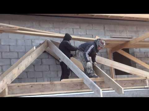 Крыша пристройки дома своими руками
