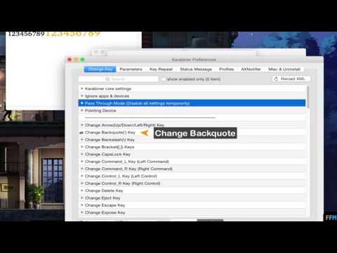 Change Backquote(`) And Backslash(\) To Forward Delete Free On Mac