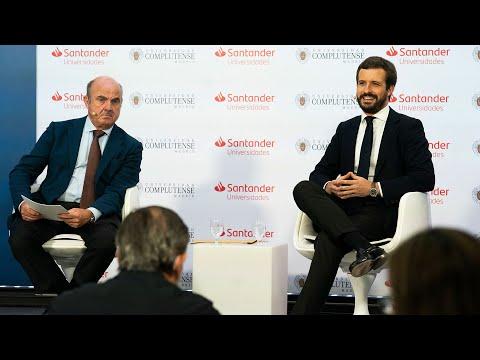 Pablo Casado inaugura las jornadas Activemos España con Europa