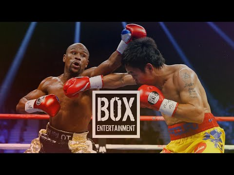 Floyd Mayweather vs Manny Pacquiao - Best Moments (видео)