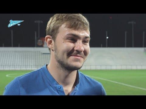 Андрей Панюков на «Зенит-ТВ»: «Самое главное — поработали по тайму» - DomaVideo.Ru