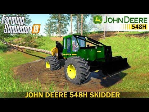 John Deere skidder v1.1