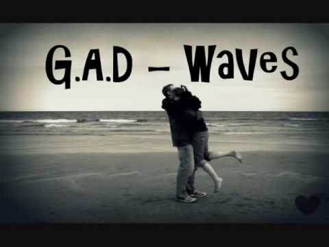 gad - Lyrical video of GAD Waves.