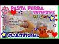 PASTA FURBA SUPERSTAR CRUNCY EDITION...inizio HORROR, finale SUPER!! e LARATUTORIAL! By Lara e Babou