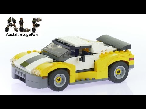 Lego Creator 31046 Fast Car Model 1of3 - Lego Speed Build Review