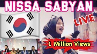 Video HEBOH !!! NISSA SABYAN DI KOREA MP3, 3GP, MP4, WEBM, AVI, FLV Maret 2019