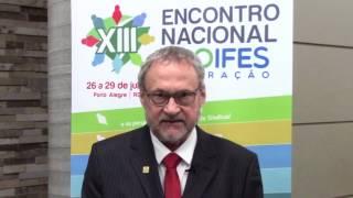 Presidente da ADUFRGS fala sobre o XIII Encontro Nacional PROIFES-Federação