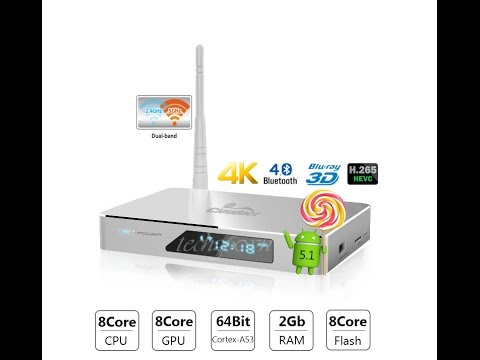 Đập hộp Android TV Box Cloudnetgo CR18 OctaCore 64bit 4K