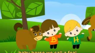 Video Musik Lagu Anak Karaoke Bahasa Inggris - Baby Animals (English Song) MP3, 3GP, MP4, WEBM, AVI, FLV Juni 2018