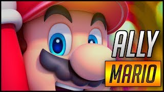 Ally's mario is too good!