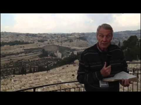 David on the Mount of Olives
