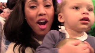 The Curry Family in New Orleans - 2014 NBA All-Star Sunday
