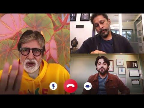 Amitabh Bachchan Gets ANGRY on Ayushmann Khurrana During Gulabo Sitabo Trailer Launch