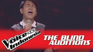 """Video Kenny """"Lay Me Down"""" I The Blind Auditions I The Voice Kids Indonesia GlobalTV 2016 MP3, 3GP, MP4, WEBM, AVI, FLV Maret 2018"""