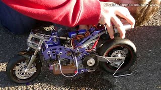 HobbyKing Nitro RC Bike First Start