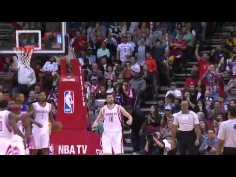 Papanikolaou's career-high night (Houston Rockets vs Los Angeles Lakers, 20/11/14)