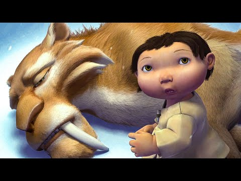 Diego's Sacrifice - Final Fight Scene - ICE AGE (2002) Movie Clip