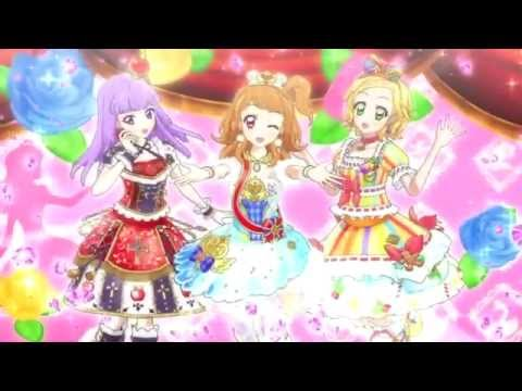 (HD)Aikatsu! -Hinaki&Akari&Sumire- [Hello! Winter Love♫]- Episode 114