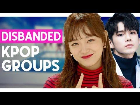top 30 disbanded kpop groups (2020)